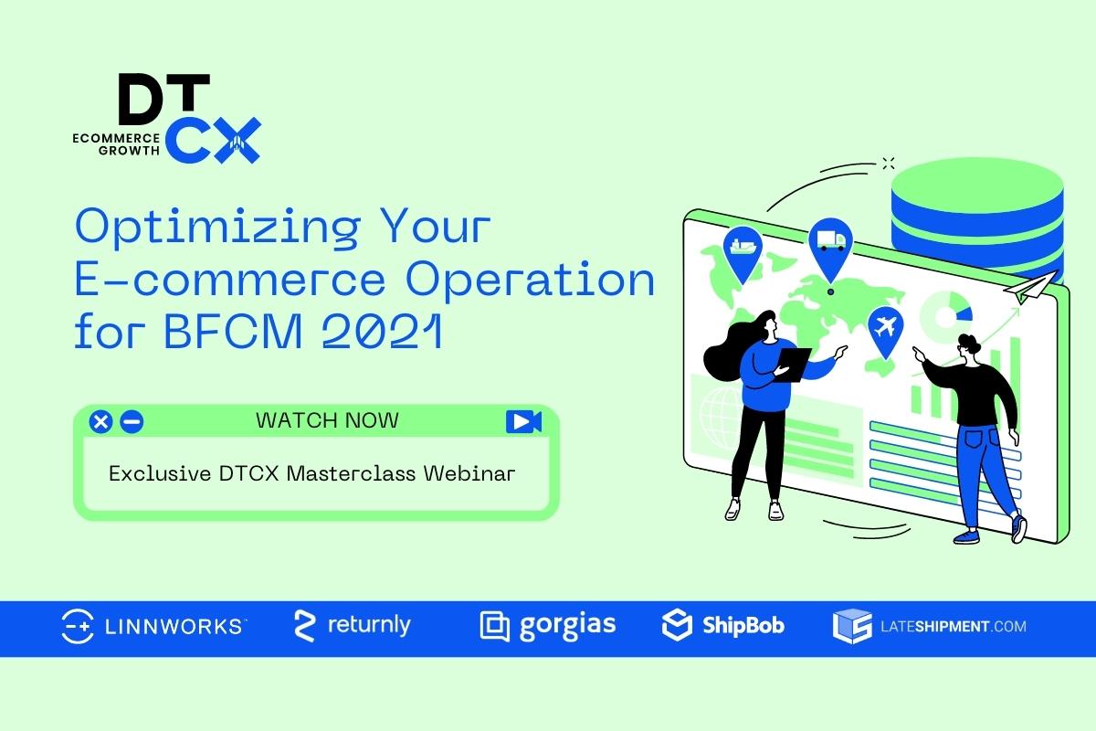 Exclusive DTCX Masterclass Webinar
